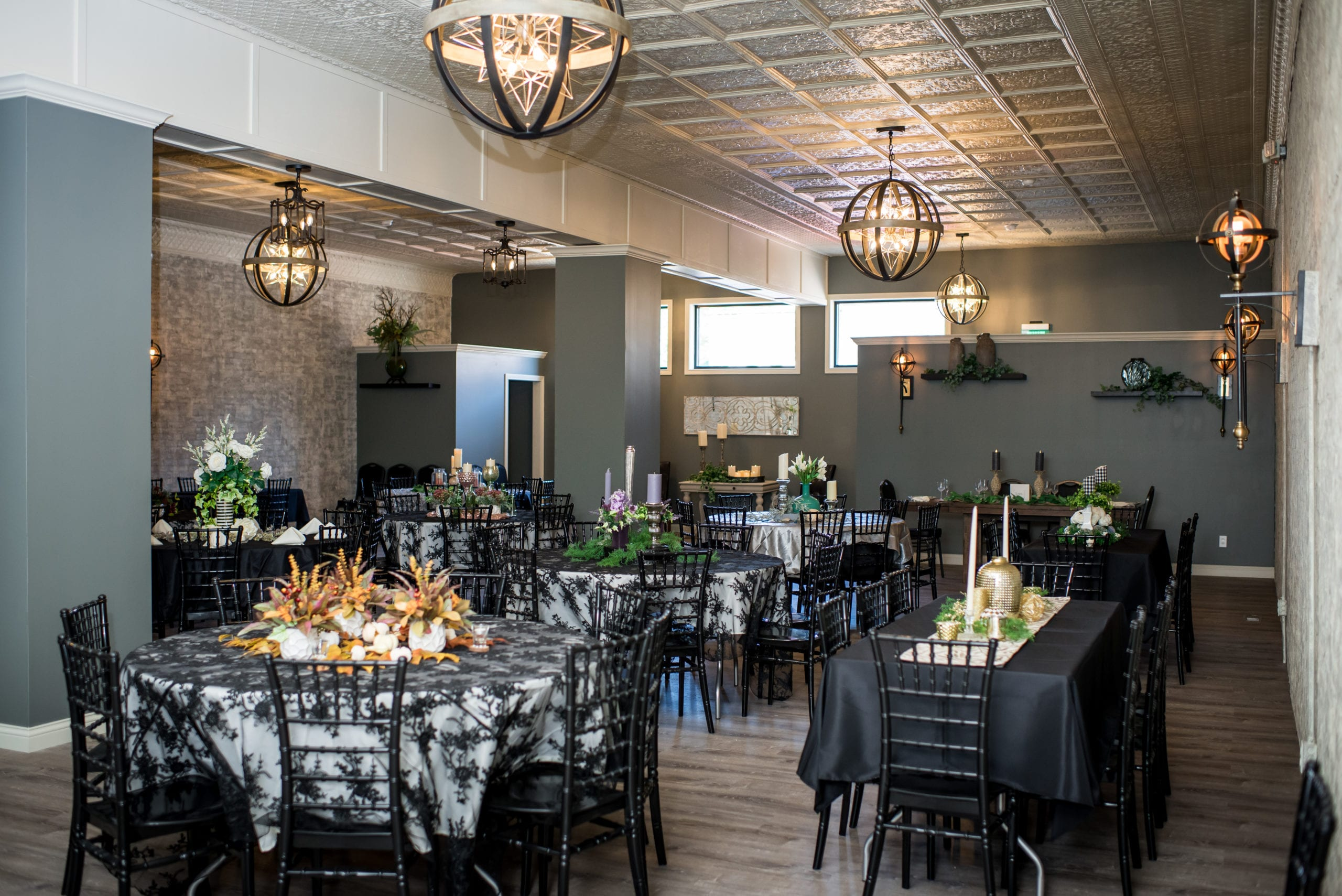 host your bridal party in our quaint event center space